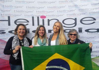 Marilise turma Brasil na Alemanha
